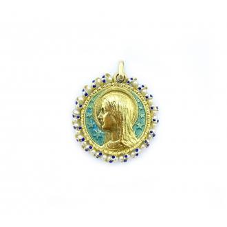 Medalla Virgen María. Joieries Barcelona