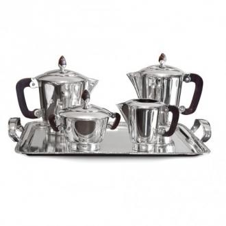 Jocs de Cafè en plata amb 5 peces. Joieries Barcelona